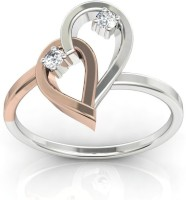 Ag Jewellery Minal Sterling Silver Diamond Ring