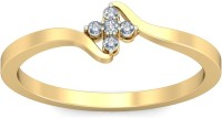 WearYourShine By PCJ The Nitza Diamond Gold Diamond 18K Yellow Gold 18 K Ring