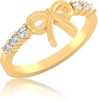 IskiUski Gold Yellow Gold Plated 14 K Ring
