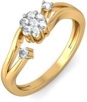 BlueStone The Caren Yellow Gold Diamond 14 K Ring
