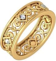 BlueStone The Kyna 14kt Diamond Yellow Gold Ring
