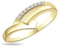 Fullcutdiamond FCDR5473R Yellow Gold Diamond 18K Yellow Gold 18 K Ring