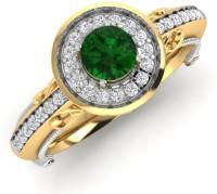 Caratify Nikolai Solitaire Yellow Gold Diamond Yellow Gold 14 K Ring