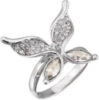Favola Crystallized Crystal Swarovski Crystal Rhodium Plated Ring