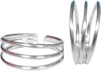 Gandhi Jewellers Silver Toe Ring Set