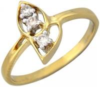 Fullcutdiamond FCDR719R Yellow Gold Diamond 18K Yellow Gold 18 K Ring