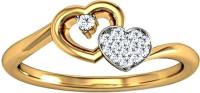 JacknJewel Cadmus Gold Diamond 18K Yellow Gold Plated 18 K Ring