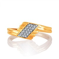 Karatcraft Bejewelled Gold Yellow Gold Diamond 18 K Ring - RNGE7H4XEQM4GGP7