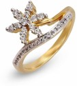 Shashvat Jewels Yellow Gold Diamond Ring - RNGDX7UXSVX7YPPY
