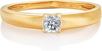 Karatcraft Delicate Diamond Yellow Gold Diamond 18 K Ring