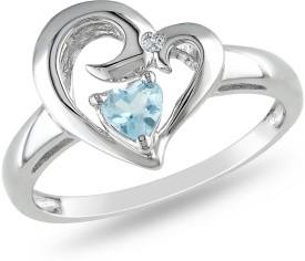 Kiara Jewellery KIR0406 Silver Cubic Zirconia Ring: Ring