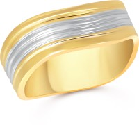 VK Jewels Love Band Alloy 18K Yellow Gold Ring