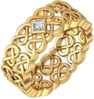 BlueStone The Niamh For Her Gold Diamond 18K Yellow Gold Plated 18 K Ring