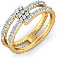 BlueStone The Diacere Yellow Gold Diamond 14 K Ring