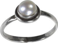 Pearl Paradise Astrological -(AE) Silver Pearl Ring