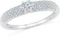 Radiant Bay Radiant Love White Gold Diamond 14 K Ring