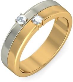 BlueStone The Dual Sonata For Him Gold Diamond Ring