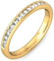 BlueStone The Antoine For Her Gold Diamond Ring