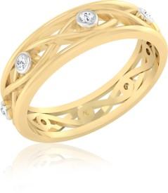 Iskiuski Love Valentine Gold Diamond 22K Yellow Gold 14 K Ring