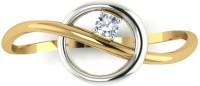 Astrum Diamonds The Halo 18kt Diamond Yellow Gold Ring