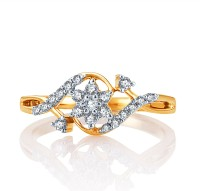 Karatcraft Infinite Feelings Yellow Gold Diamond 18 K Ring
