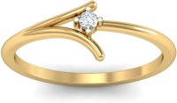 WearYourShine By PCJ The Peyton Diamond Gold Diamond 18K Yellow Gold 18 K Ring