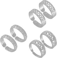 925 Silver Stunning Fashionable Silver Sterling Silver Toe Ring Set