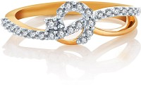 Karatcraft Corona Yellow Gold Diamond 18 K Ring