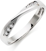 AG Jewellery Real Diamond Fashion SR0205 Sterling Silver Diamond Silver Ring