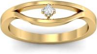 WearYourShine By PCJ The Ximena Diamond Gold Diamond 18K Yellow Gold 18 K Ring