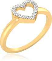 IskiUski Enigma Heart Gold Yellow Gold Plated 14 K Ring