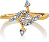 Karatcraft Collatio Yellow Gold Diamond 18 K Ring