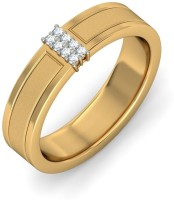 BlueStone The Hera For Him Gold Diamond 18 K Ring