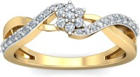 WearYourShine By PCJ The Chloe Diamond Gold Diamond 18K Yellow Gold 18 K Ring