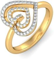 BlueStone The Amadis Yellow Gold Diamond 14 K Ring