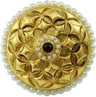 The Art Jewellery Brass Yellow Gold Ring