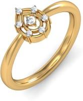 BlueStone The Elettra Yellow Gold Diamond 14 K Ring