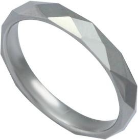 Sparkling Drop Celestial Rollings Tungsten Rhodium Ring