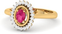 WearYourShine By PCJ The Naaz 18kt Diamond Yellow Gold Ring