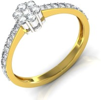 Avsar Sonali Gold Diamond 18 K Ring