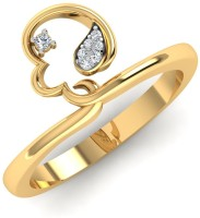Caratify Alyssa Yellow Gold Diamond 18K Yellow Gold 18 K Ring