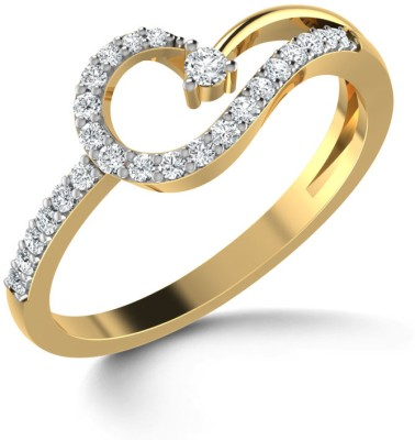 CaratLane Propitious Gold Diamond Ring