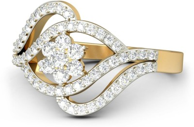 WearYourShine By PCJ The Analore Diamond Gold Diamond Ring