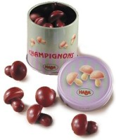 HABA Wooden Mushrooms In Tin (Made In Germany)