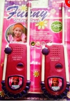 Shop & Shoppee Role Play Toys Shop & Shoppee Pink Princess Walkie Talkie Set