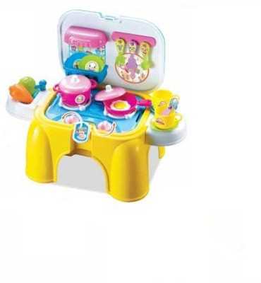 Xiong Cheng Role Play Toys Xiong Cheng Wot Kitchen Kids Blue