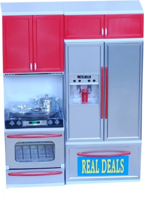 Real Deals Role Play Toys Real Deals Modern Kitchen Set
