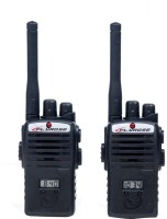 Montez BLACK WALKIE TALKIE INTERPHONE SET WITH TIME DISPLAY ,BATTERIES AND SCREW DRIVER (color May Vary)