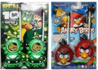 New Pinch Combo Of Green & Red Bird Walkie Talkie (color May Vary)
