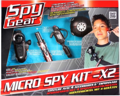 Spy Kit Spy Gear Micro Spy Kit x2
